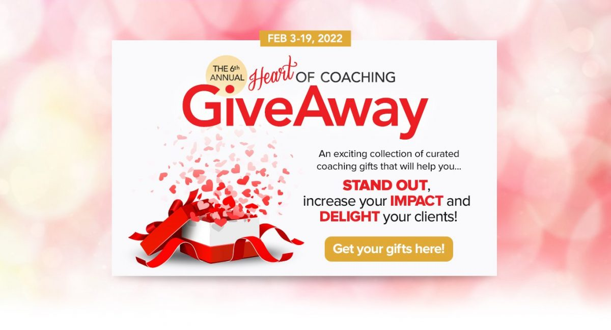 The Heart of Coaching Giveaway